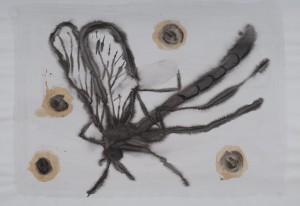 encre:aquarelle 25 x 19 cm